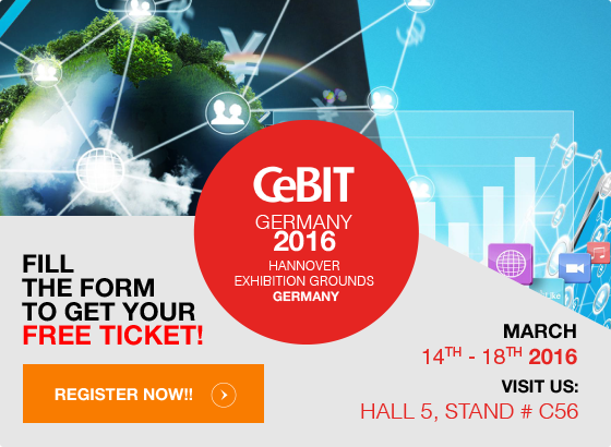 CeBIT Germany 2016 Hannover Exhibition Grounds