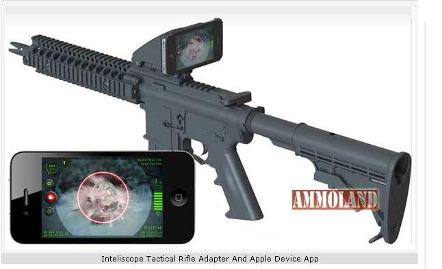 Inteliscope Tactical Rifle Adapter And Apple Device App
