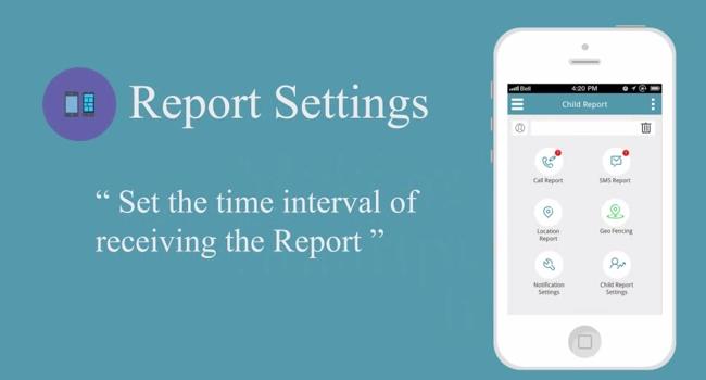 Child Reports Setting