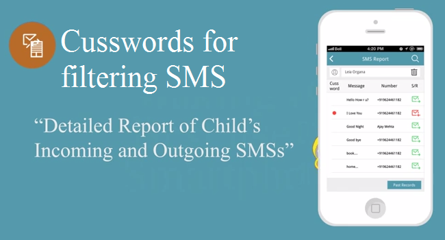 cussworld for filtering SMS