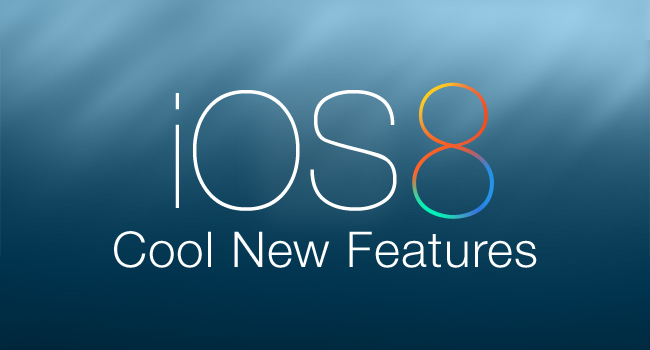 Apple ios 8 Features