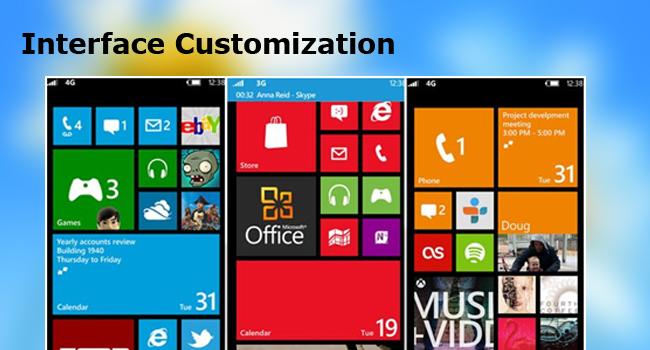 Interface Customization