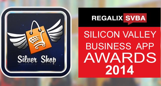 Silver Shop Silicon Valley Business App Awards 2014