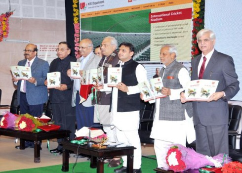 Akhilesh Yadav Launch UP NRI Portal