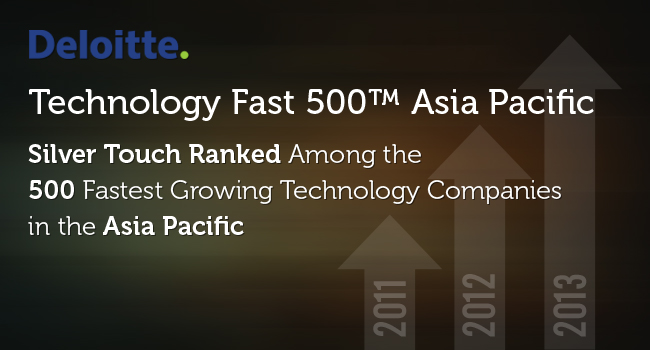 Silver Touch Ranked in Deloitte 2014 Technology Fast 500 TM
