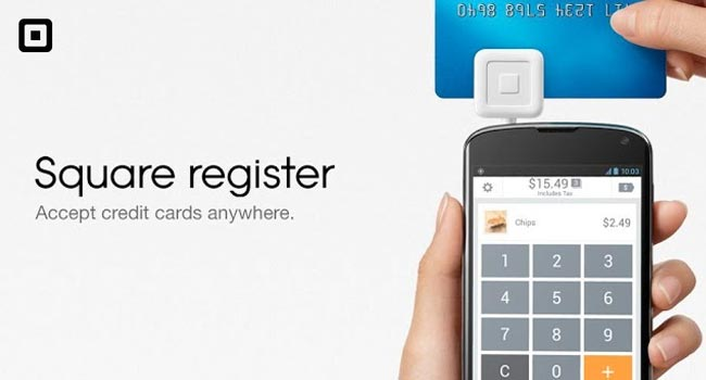 Square Register android app