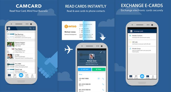 camcard android app