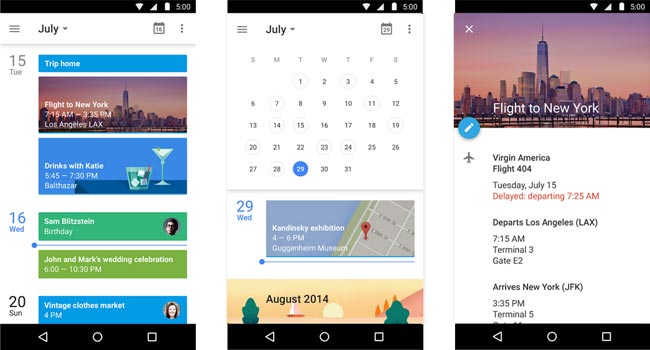 google calender android app