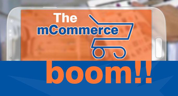mCommerce - Mobile Commerce Infographic banner