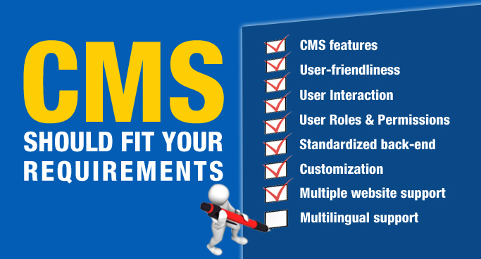 CMS features