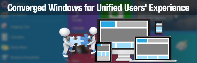 Converged Windows for Unified Users' Experience