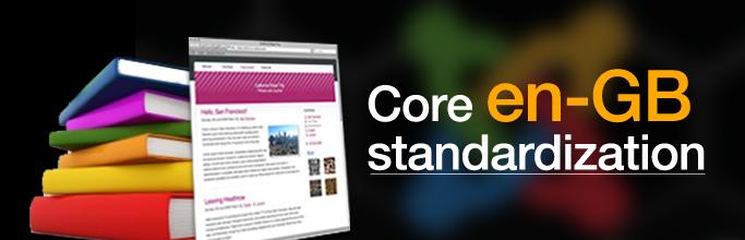 Core en-GB Standardization in joomla 3.4
