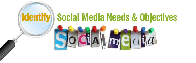 Identify Social Media Needs & Objectives