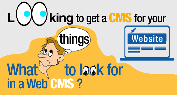 get a CMS for your Website