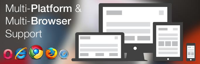 Multi-Platform & Multi-Browser Support