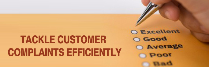 tackle customer complaints efficiently