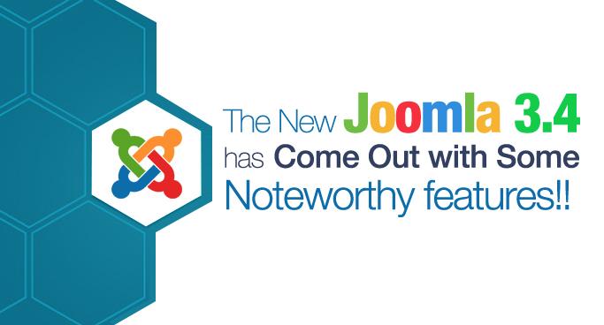 Joomla 3.4 Features