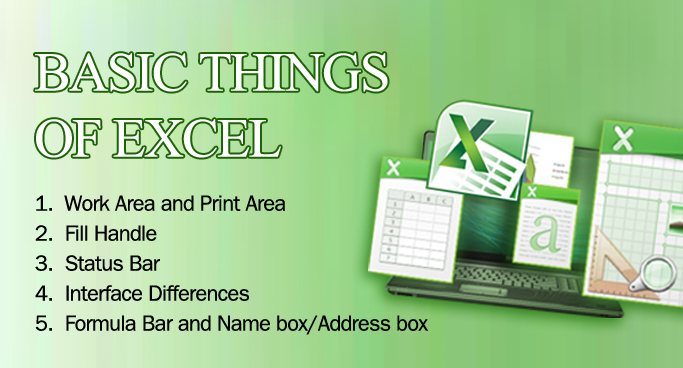 Basic Things of Excel 1
