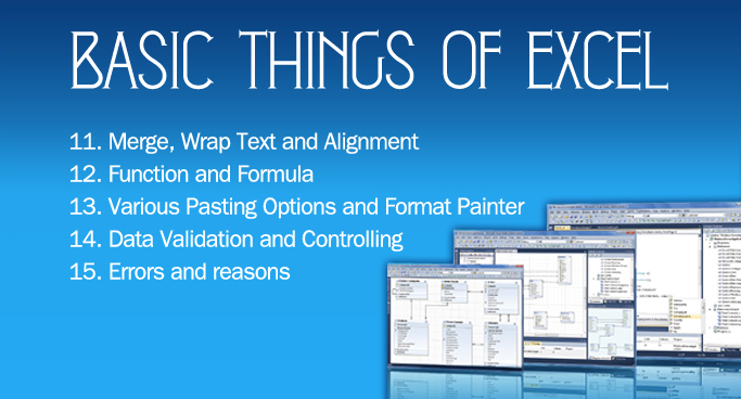 Basic Things of Excel-3
