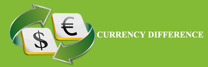 Currency Difference
