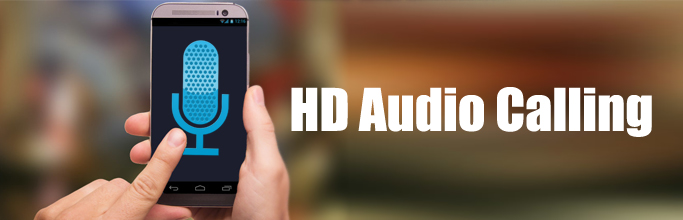 HD Audio Calling