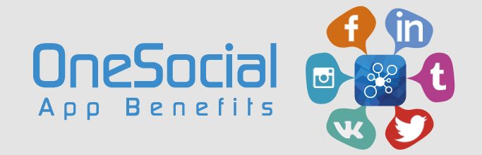 OneSocial Mobile App Benefits