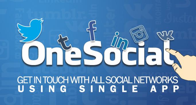 OneSocial Mobile App