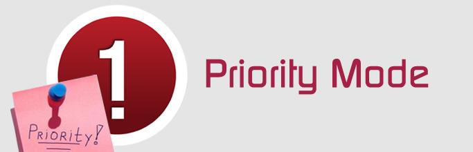 Priority Mode