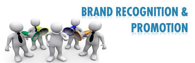 Brand Recognition & Promotion