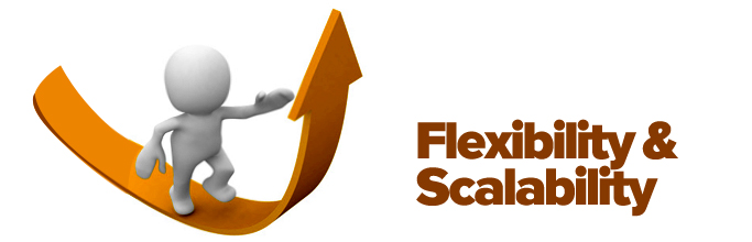 Flexibility & Scalability