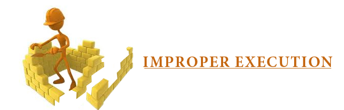 Improper Execution