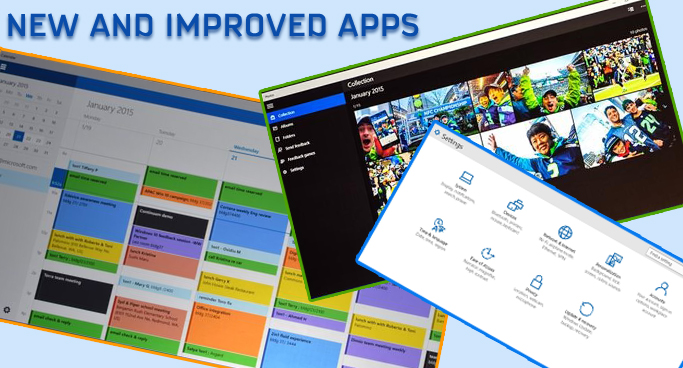 New and Improved Apps
