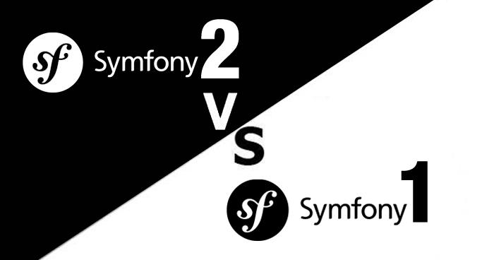 Symfony2 vs Symfony1