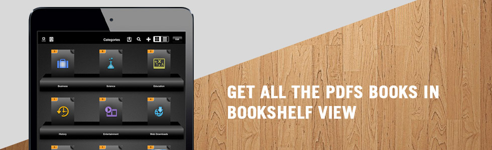 Get all the PDFs Books in Bookshelf View