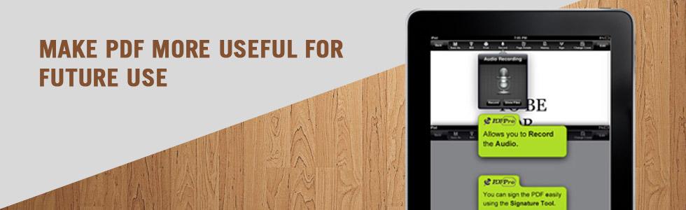 Make PDF more Useful For Future Use
