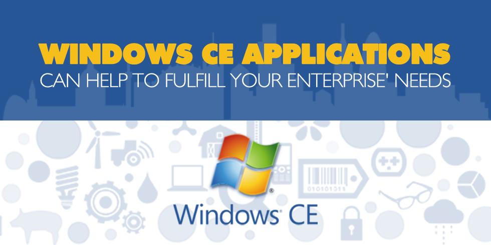 Windows CE Applications for Enterprise