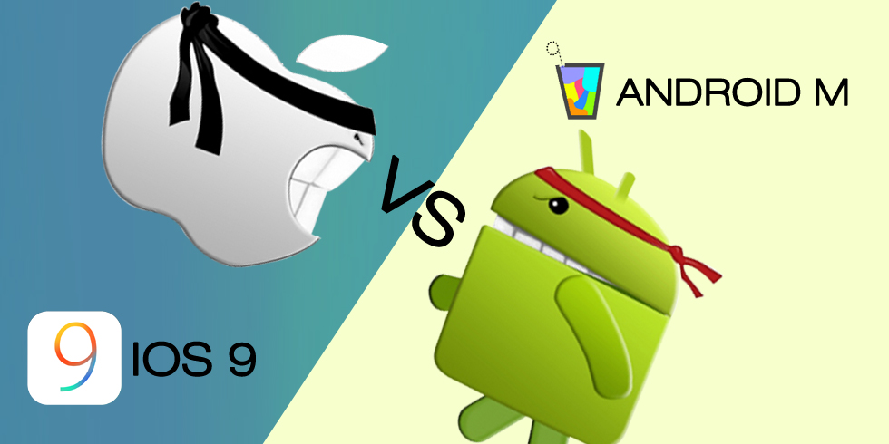 Android M Vs iOS 9