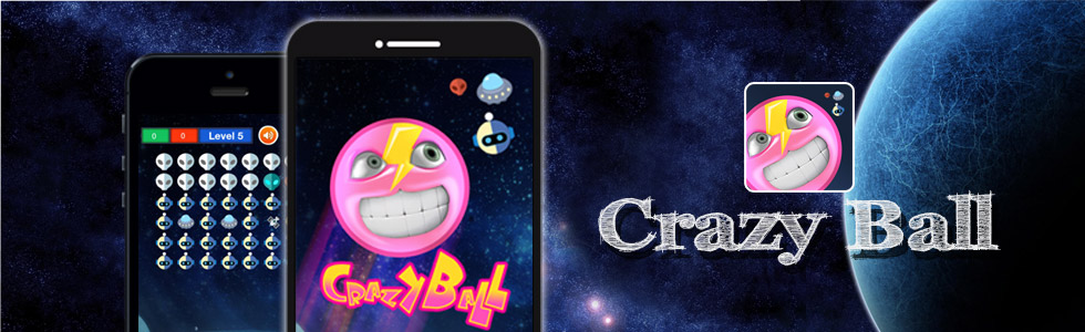 Crazy Ball –iPhone, Android Smartphone App
