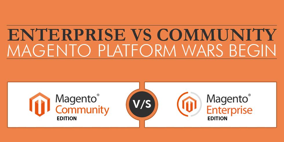 Magento Enterprise vs magento Community