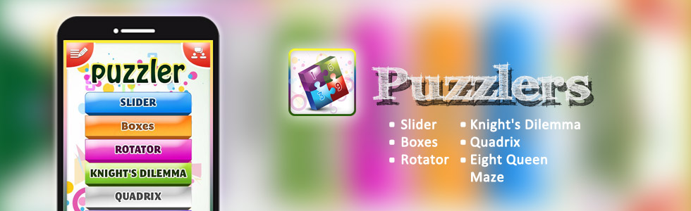 Puzzlers – Android Smartphone App