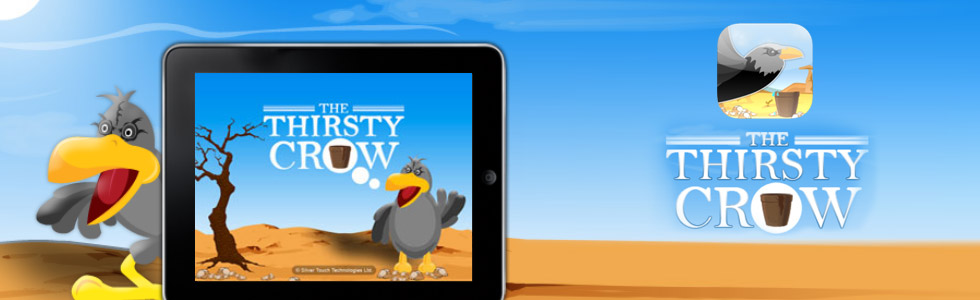 The Thirsty Crow –iPad App