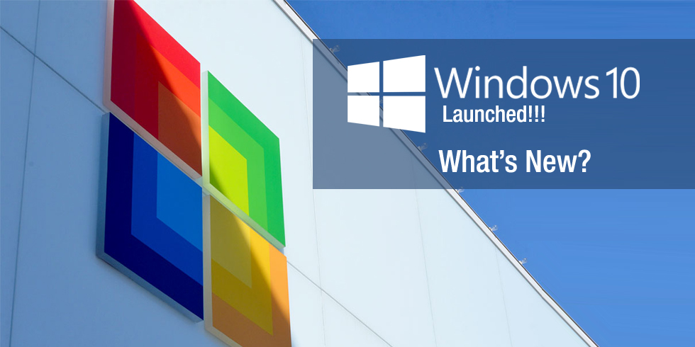 windows 10 launched