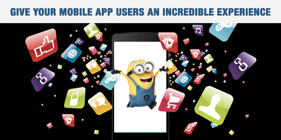 Alluring Mobile App Experience to your Customers