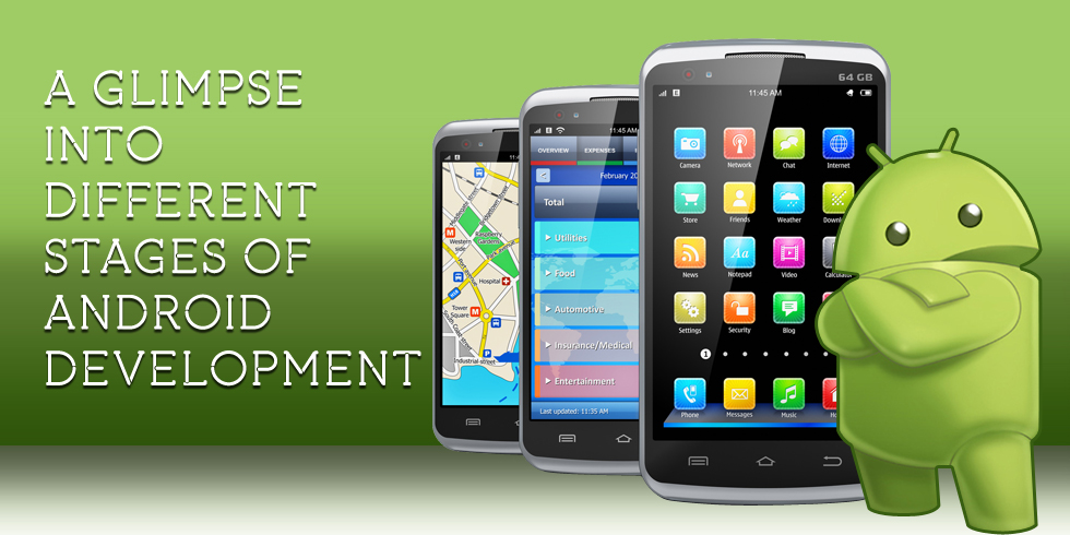 Different Stages of Android Development