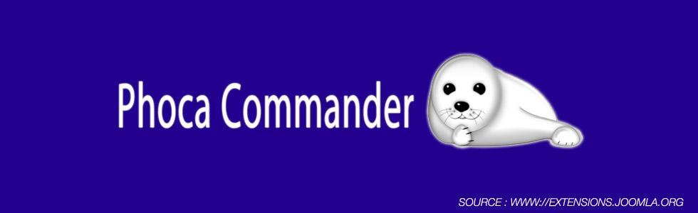 Phoca Commander Joomla Extensions