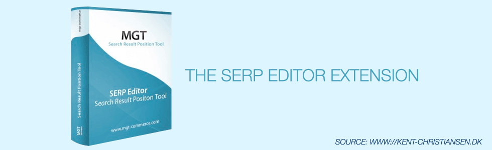 The SERP Editor Extension