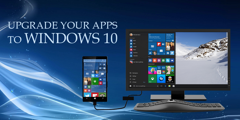 Upgrade Windows App to Windows 10