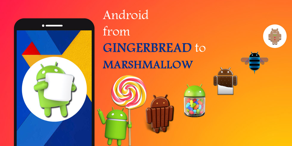 Android from Gingerbread to Marshmallow