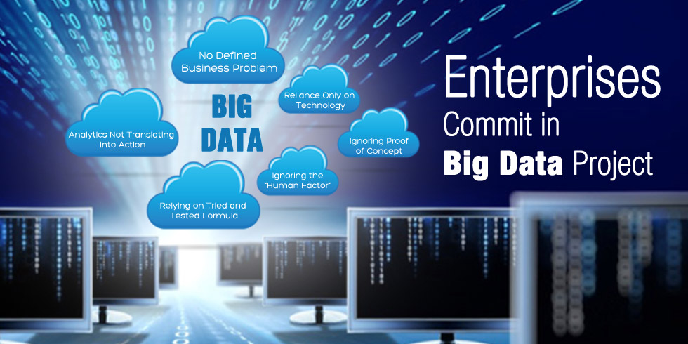 Mistakes Enterprises Commit in Big Data Project