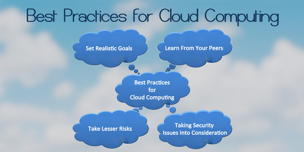 Best Practices for Cloud Computing